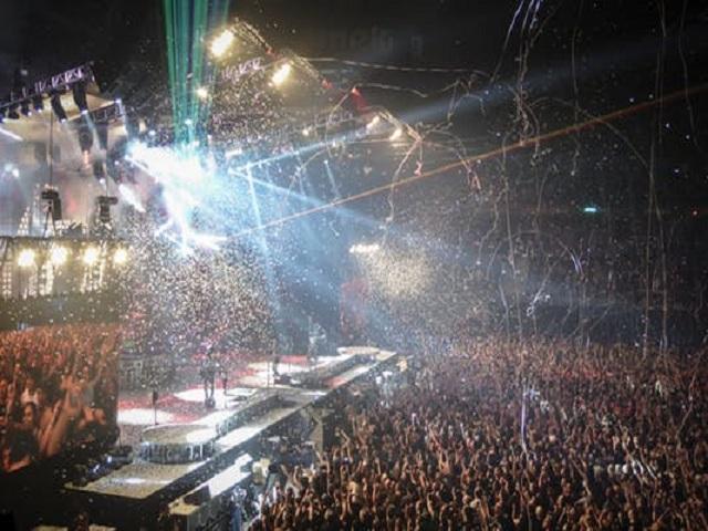 Konsert på kvällen